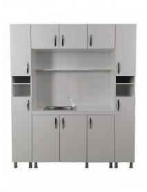 Chemistry Cabinet Silvius LAB-02