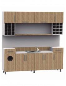 Chemistry Cabinet Vibianus LAB-04